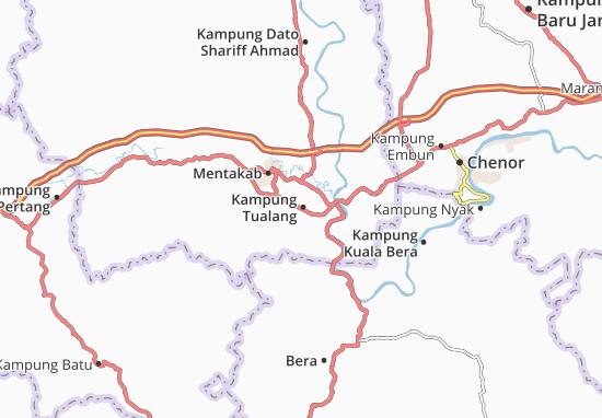 Mappe-Piantine Kampung Tualang
