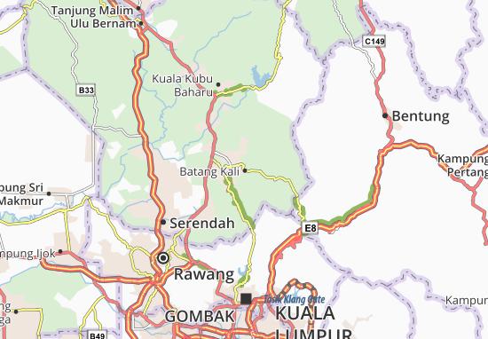 Mapas-Planos Batang Kali