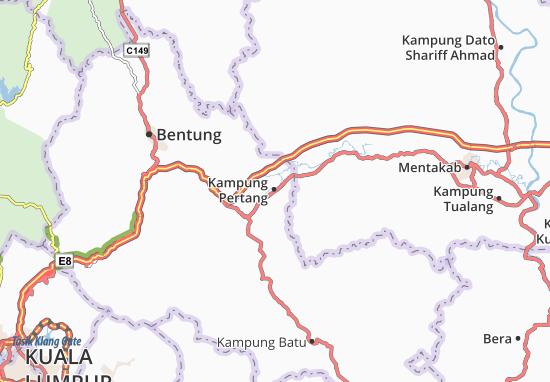 Kampung Pertang Map