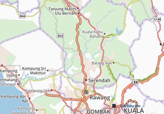 Mapas-Planos Hutan Rizab Bukit Tarik