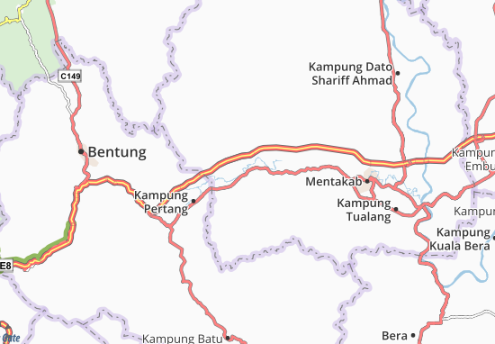 Kampung Dala Map