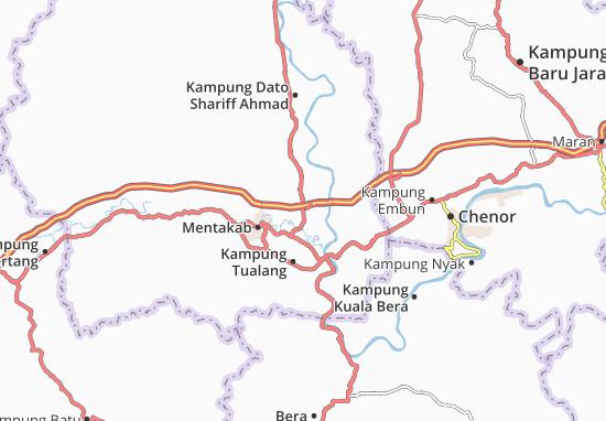 Mappe-Piantine Kampung Paya Keladan