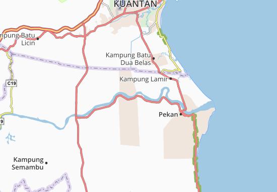 Carte-Plan Kampung Aceh