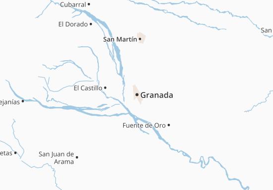 Carte-Plan Granada