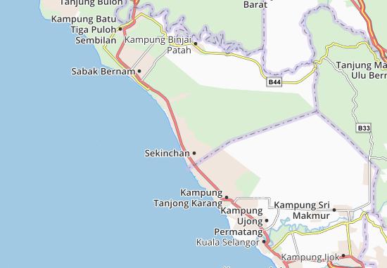 Mapas-Planos Sekinchan