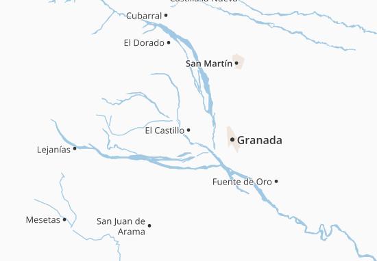 Carte-Plan El Castillo