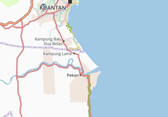 Carte-Plan Kampung Permatang Nangka