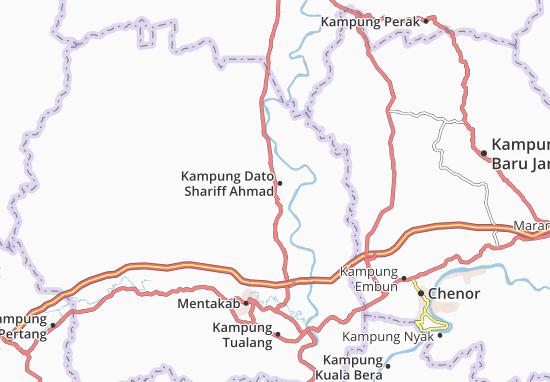 Kaart Plattegrond Kampung Dato Shariff Ahmad