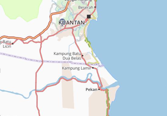 Kampung Batu Dua Belas Map