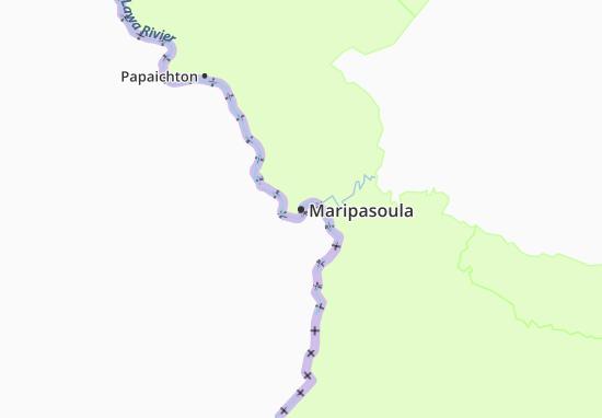 Maripasoula Map