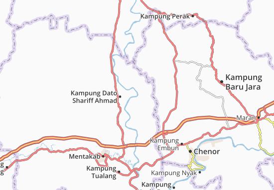 Kampung Paya Baru Map
