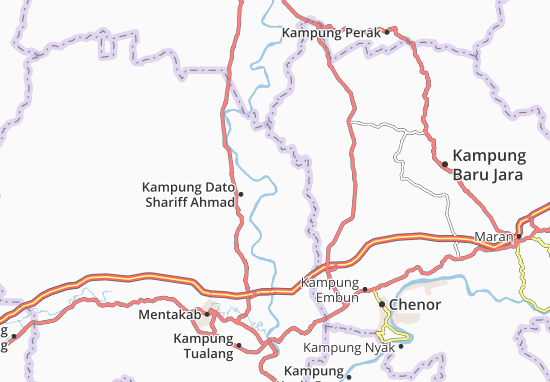 Mapas-Planos Kampung Paya Baru