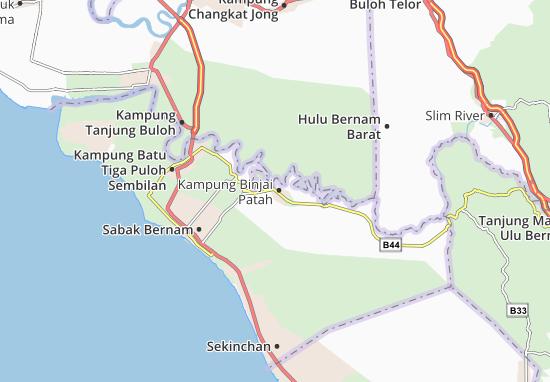 Kampung Binjai Patah Map
