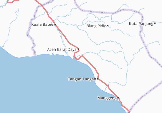 Carte-Plan Aceh Barat Daya
