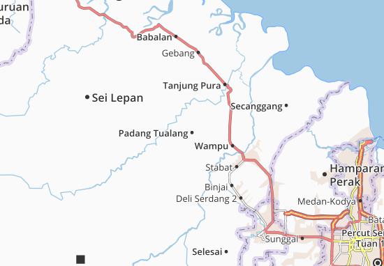 Mapas-Planos Padang Tualang
