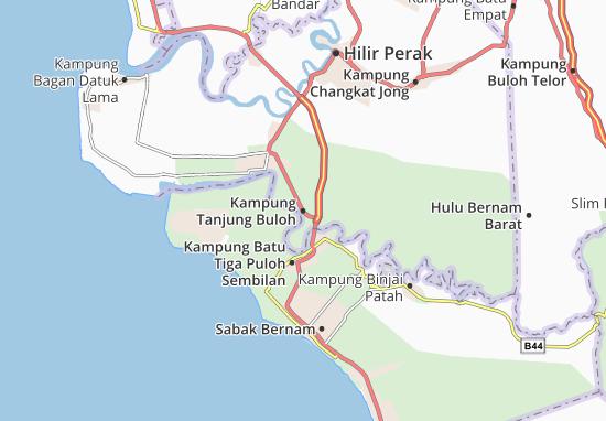 Kampung Tanjung Buloh Map