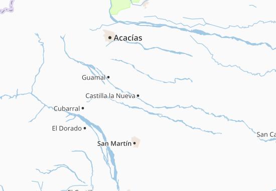 Carte-Plan Castilla la Nueva