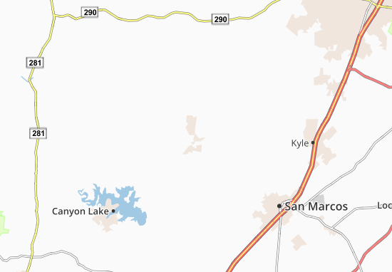 Wimberley Map