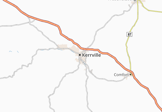 Kerrville Map