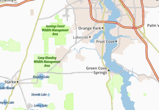Asbury Lake Map