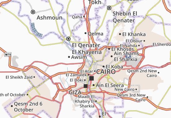 Mapas-Planos El Waraq