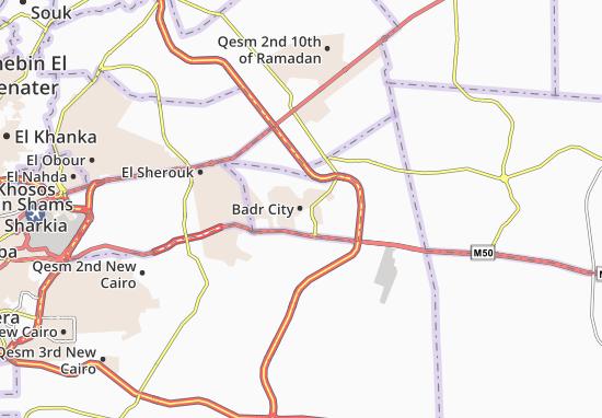 Mappe-Piantine Badr City