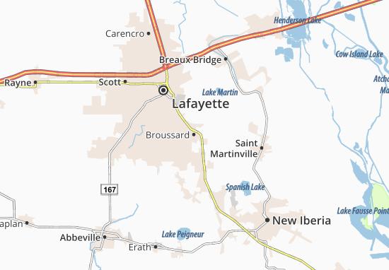 Mapas-Planos Broussard
