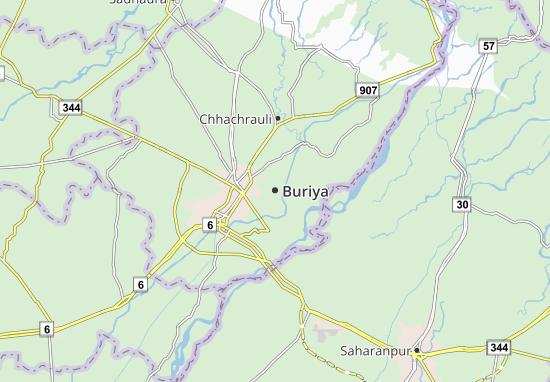 Buriya Map