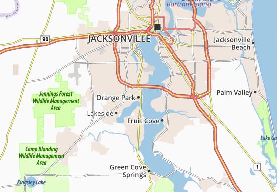 Orange Park Map