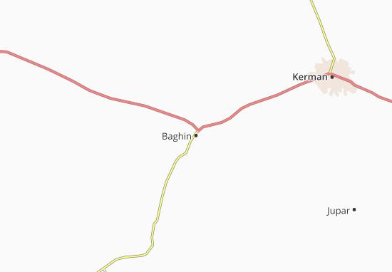 Kaart Plattegrond Baghin