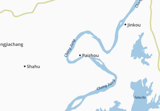 Carte-Plan Paizhou