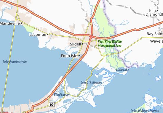Eden Isle Map