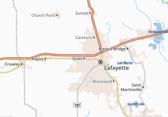 Kaart Plattegrond Scott