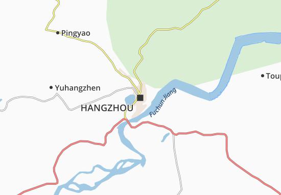 Mappe-Piantine Hangzhou