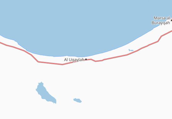 Carte-Plan Al Uqaylah