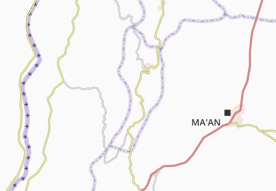Kaart Plattegrond Petra