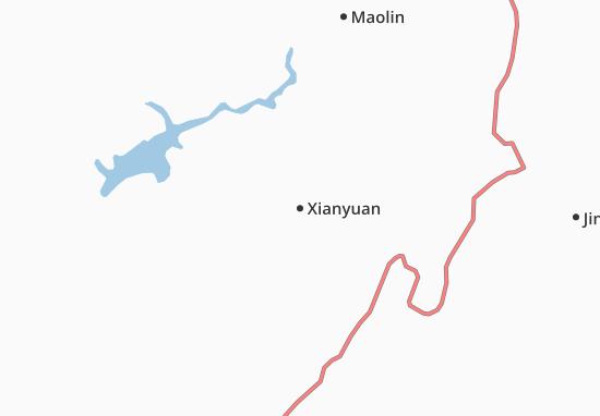 Carte-Plan Xianyuan