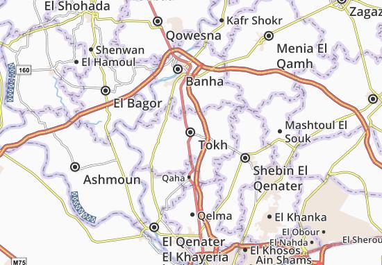 Kaart Plattegrond Tokh