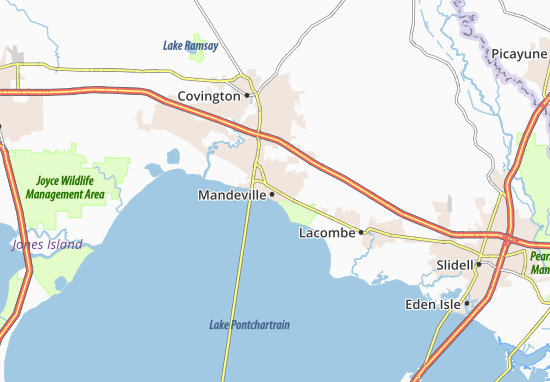 Mappe-Piantine Mandeville
