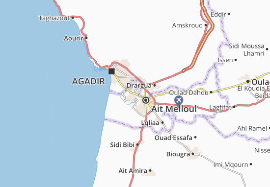 Mapa Plano Dcheira El Jihadia
