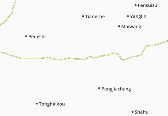 Xiantao Map