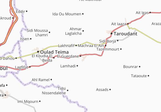 Mapas-Planos El Guerdane