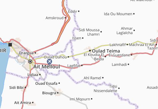Carte-Plan Sidi Boumoussa