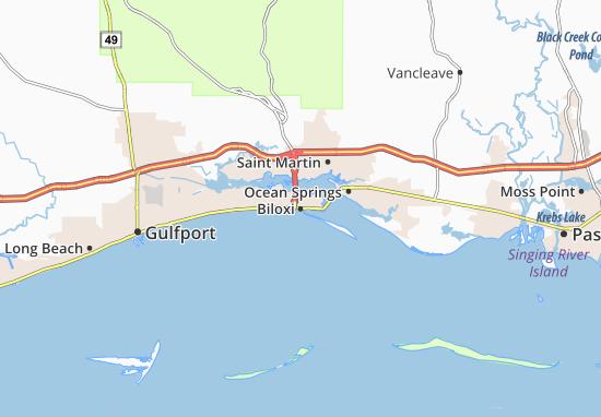 Biloxi Map