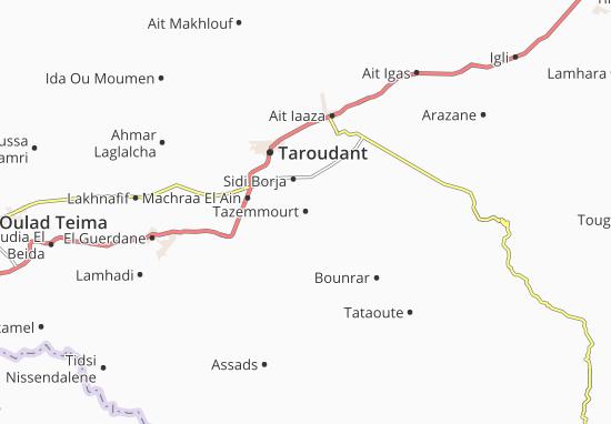 Mapas-Planos Tazemmourt