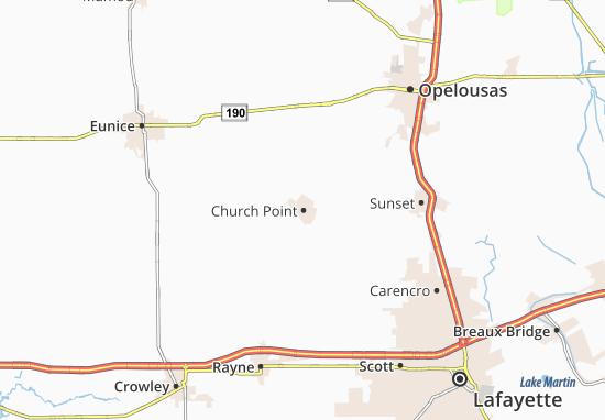 Church Point Map