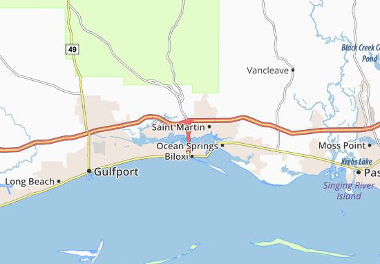 D'Iberville Map