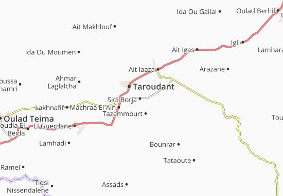 Mapas-Planos Sidi Borja