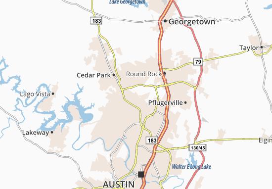 Jollyville Map