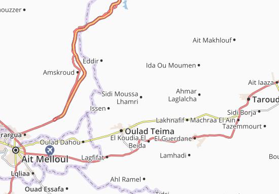 Mapas-Planos Sidi Moussa Lhamri